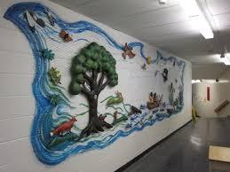 3d mural mural stonemasque
