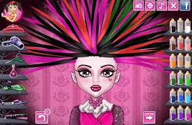 monster dolls chibi robecca steam dress girls game play
