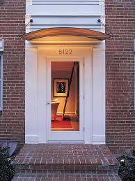 Exterior Door Awnings Exterior Door Awning Home Designs Ideas Tydrakedesign Us