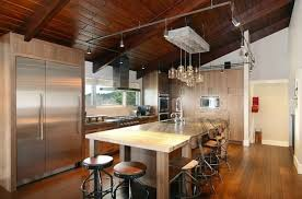 hypnotic kitchen island with stools underneath also modern clear