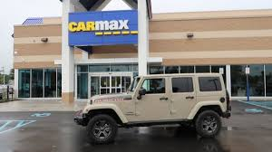 old jeep wrangler i took my 2 month old jeep to carmax this is what they offered