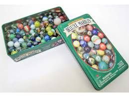 vintage de luxe vintage deluxe marbles game in tin