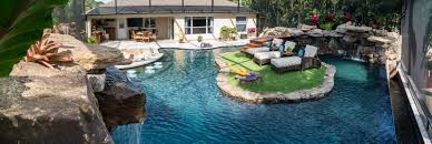 How To Make A Lazy River In Your Backyard A Lazy River Runs Through It Custom Pool On Pine Island