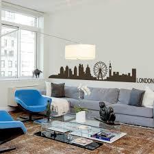 Home Decor London Aliexpress Com Buy London Skyline Wall Decal Cute Vinyl Wall