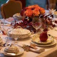 thanksgiving table set divascuisine