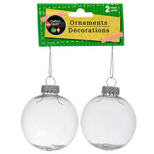 clear christmas ornaments bulk crafters square paintable clear plastic christmas