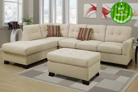 Sectional Sofa Pillows Beige Fabric Sectional Sofa And Ottoman Steal A Sofa Furniture