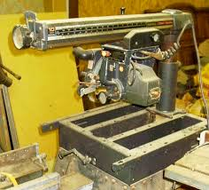 craftsman sliding table saw reader question a great radial arm saw table design toolmonger