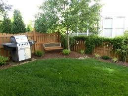 Simple Small Yard Landscaping Without The Grill Yard Ideas - Simple backyard design