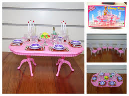 Barbie Dining Room Barbie Dollhouse Furniture