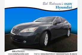 used lexus es 350 for sale in indianapolis in edmunds