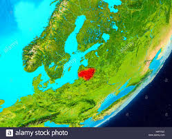 Map Of Lithuania Lithuania Map 3d Stock Photos U0026 Lithuania Map 3d Stock Images Alamy