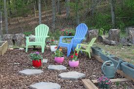 garden sitting area house of lloyd