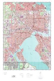 Elevation Map Of Florida by Mytopo Jacksonville Florida Usgs Quad Topo Map