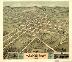Overhead Door Huntsville Al by Vintage Map Huntsville Alabama 1871 30 00 Via Etsy They Have