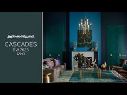 Sherwin Williams 2017 Colors Of The Year September 2017 Color Of The Month Cascades Sherwin Williams