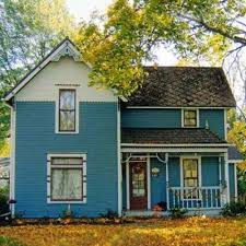 1036 best blue houses images on pinterest blue houses small