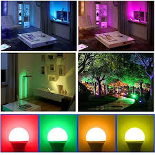 sendida led light color changing 12w led rgb bulb