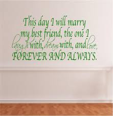 this day i will my friend search wedding