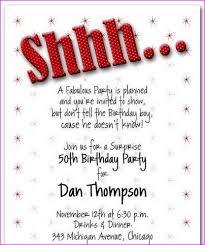 surprise 50th birthday party invitations u2013 gangcraft net