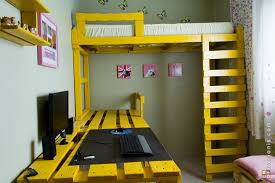 Build Bunk Bed With Stairs by Pallet Bunk Bed Projects Pallet Wood Projects