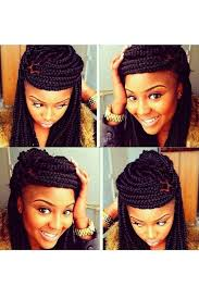 hairstyles for box braids 2015 how to style box braids 50 stunning ideas from pinterest