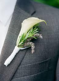 calla boutonniere calla wedding boutonniere