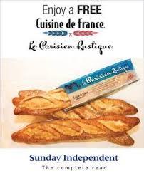 cuisine de r ence the sunday independent to launch baguette offer with cuisine de