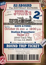 12 best train ticket invitations images on pinterest ticket