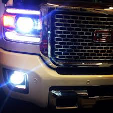 led lights for 2014 gmc sierra gmc morimoto xb led fogs hid kit pros