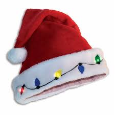light up santa hat costume accessory walmart