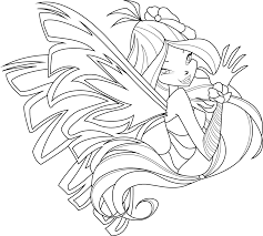 flora coloring pages flora sirenix coloring page by icantunloveyou on deviantart