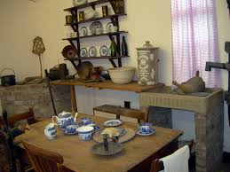 image of a victorian kitchen in oak u2013 home design and decor