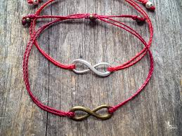 bracelet with red string images Red string infinity charm bracelet jpg