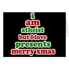 funny atheist christmas greeting cards zazzle