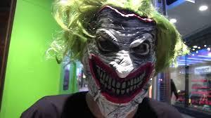 Joker Halloween Mask Batman Death Of The Family Book And Joker Mask Set Unboxing Youtube