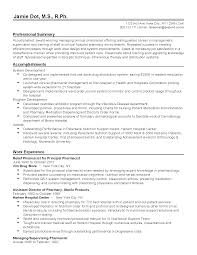 sample profiles for resumes profile sample resume developing resume profile examples great professional clinical pharmacist templates to showcase your talent myperfectresume sample of professional resume