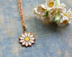 flower necklace etsy images 70s necklace etsy jpg