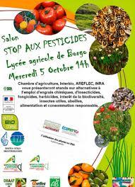 chambre d agriculture de haute corse alternatives à l emploi des pesticides un salon au lycée agricole