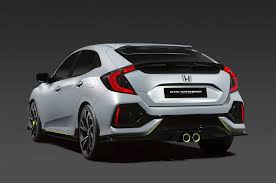 Honda Civic Si Two Door 2017 Honda Civic Hatchback Gets Single Engine Option For U S