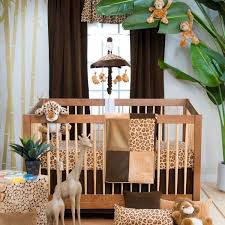 Cheetah Bedding Leopard Mini Crib Bedding U2013 Home Blog Gallery