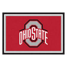 Ohio State Runner Rug Fanmats Ohio State 5 Ft X 8 Ft Area Rug 6265 The
