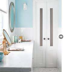 Narrow Double Doors Interior Bathroom Renovation An Inexpensive Refresh Bathroom Photos