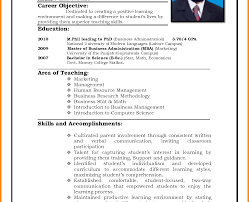 resume exles pdf resume template sle format pdf in for teaching of
