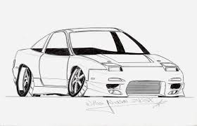 click the nissan 370z coloring pages to view printable version or