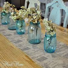 easy burlap table runner all things and home
