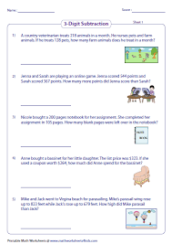 subtraction word problems subtraction word problems worksheets
