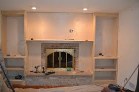 Fireplace Mantels With Bookcases Marvelous Fireplace Mantels With Bookshelves And Seattle Houzz