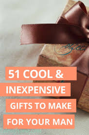 Homemade Christmas Gifts For Adults by 20 Handmade Gifts Guys Will Actually Like Gift Craft And