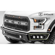 cube cars white zroadz z325652 kit f 150 raptor led fog light mount kit with six 3
